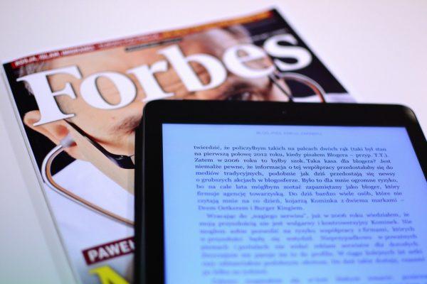 ジュビリーエースがフォーブスに載った?世界一の経済誌に載る意味とは。